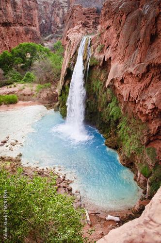 Fototapeten Wasserfalle Beautiful Havasu Falls,Supai, Arizona
