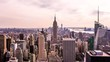 Manhattan time lapse, New York pan fx