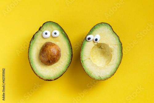 funny avocado