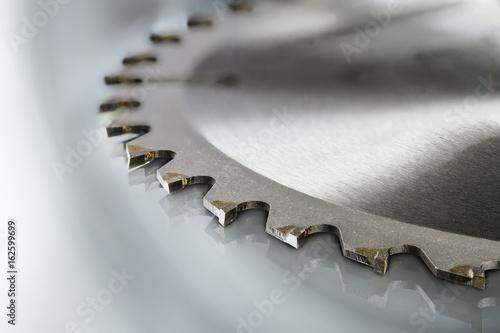 Leinwand Poster circular saw blades