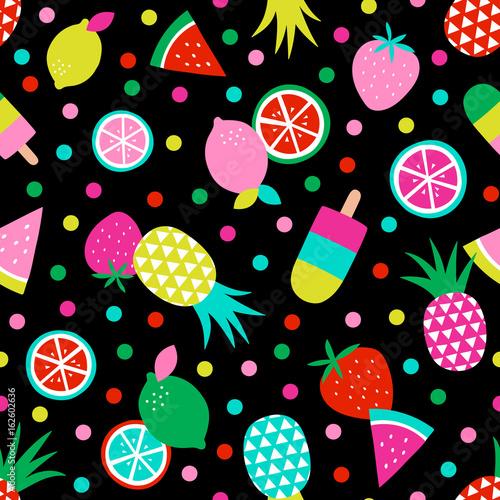 kolorowe-owoce-tropikalne-bezszwowe-tlo-wzor