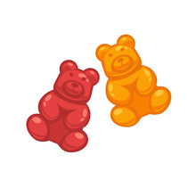 Different Colored Jelly Bears