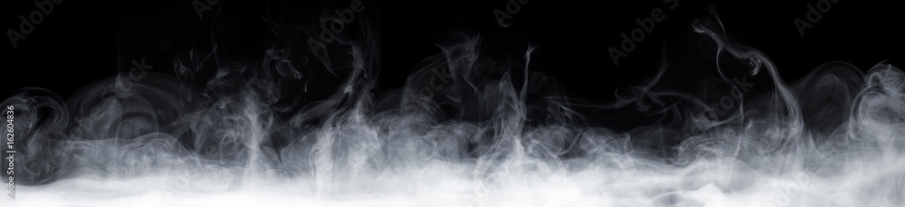 Fototapety, obrazy: Abstract Smoke In Dark Background