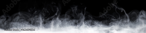 Deurstickers Rook Abstract Smoke In Dark Background