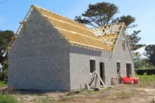 Chantier De Maison En Construction