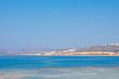 View of the sea coast in Chania, Crete island, Greece.