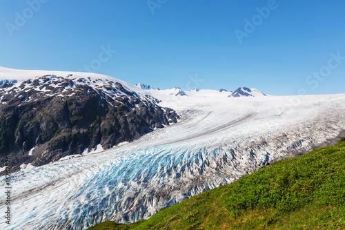 Poster Glaciers Exit glacier