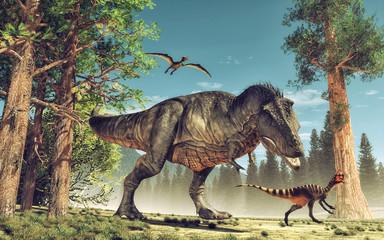 Naklejka Do pokoju dziecka Dinosaur