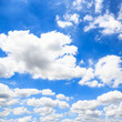 Leinwandbild Motiv Clouds with blue sky background.