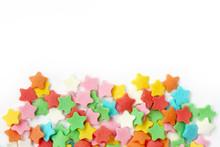 Multicolored Sugar Sprinkling ...