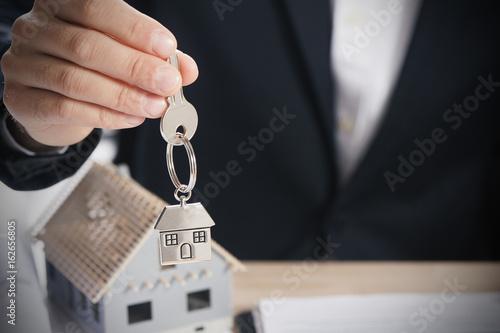 Photo Hand with a house key