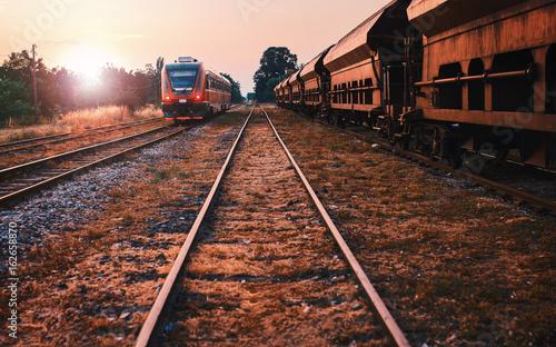Fototapeta Skład pociągu