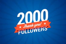 2000 Followers Card