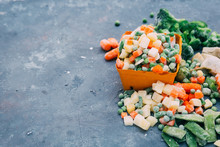 Frozen Vegetables. Frozen Vege...