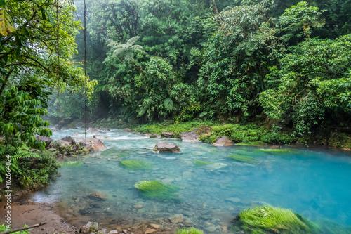 Cadres-photo bureau Bestsellers Rio Celeste blue acid water