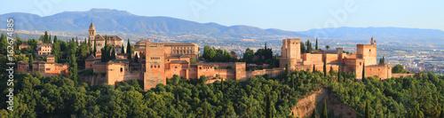 Pinturas sobre lienzo  L'Alhambra vu de Albaicín, Grenade, Andalousie