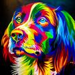 canvas print picture - Golden Retriever