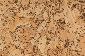 Panel Szklany Tło / Tekstura / Desenie cork texture