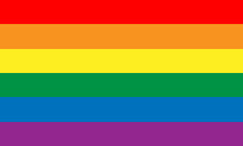 Lesbian, Gay, Bisexual, And Transgender Flag. Rainbow Pride Flag Of LGBT Organization. Vector Illustration