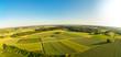 canvas print picture - Luftaufnahme von ländlicher Region