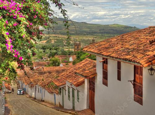 Fotomural  Barichara, Santander, Colombia