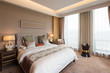 interior of modern luxury bedroom