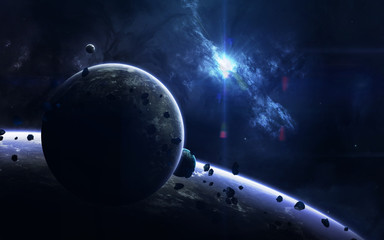 Science fiction space wallp...