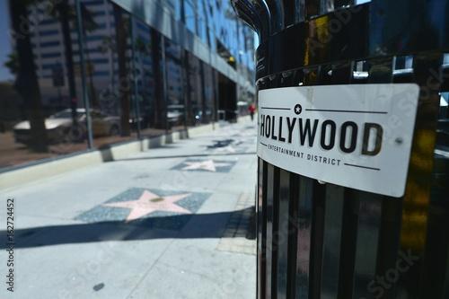 Hollywood Walk of Stars Canvas Print
