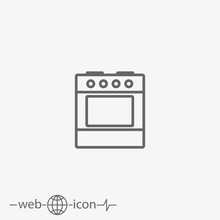 Stove With Oven