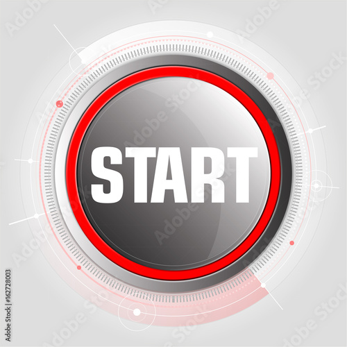 Start! Button, Icon - Buy this stock vector and explore similar