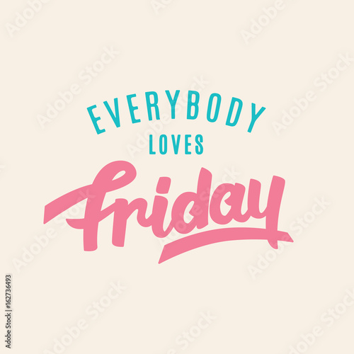 Poster  Everybody Loves Friday