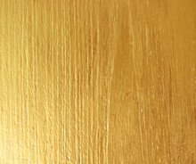 Gold Paint On Wooden For Texture Background
