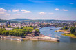 canvas print picture - Koblenz - Germany