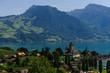 Mountain Scene in Switserland
