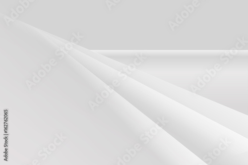 Fototapety, obrazy: abstract vector white gradrient gray background