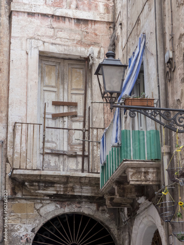 a little alley in old taranto, in the south of italy - Buy ...