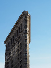 Flatiron Building In New York ...
