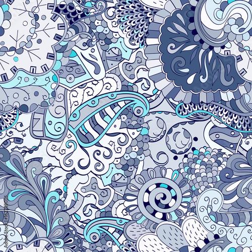 Fotografía  Tracery seamless pattern