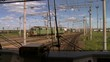 Video from the train cab. Railway Express leaving town .