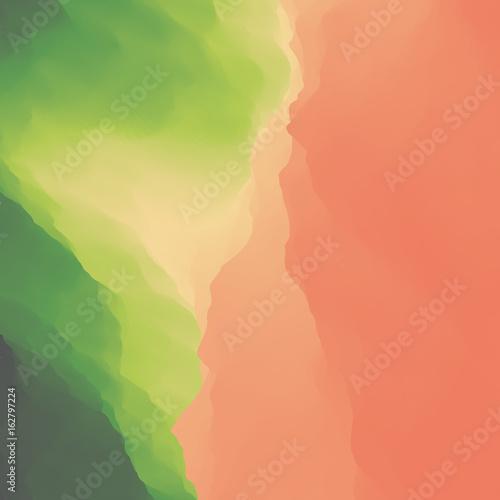 Foto op Aluminium Koraal Abstract background. Template for design. Modern Pattern. Vector Illustration.