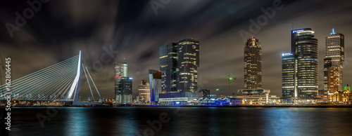 Cadres-photo bureau Rotterdam Rotterdam nightsky