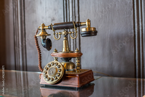 Fotografie, Obraz  Antique Telephone