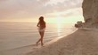 Femininity At Sunset