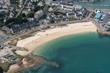 Leinwandbild Motiv Vue aérienne de Quiberon en France