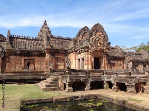 Spoed Foto op Canvas Zuid-Amerika land Prasat Hin Phanom Rung, Impressive Ancient Khmer Temple in Buriram Province of Thailand