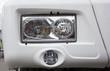 truck headlight detail