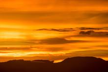 Sunset At Phurua