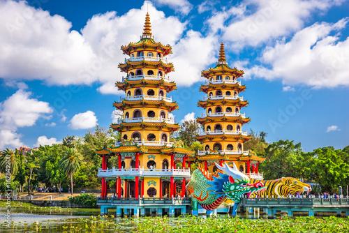 Valokuva  Kaohsiung, Taiwan Lotus Pond