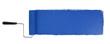 Leinwanddruck Bild - Paint Roller With Logn Blue Stroke