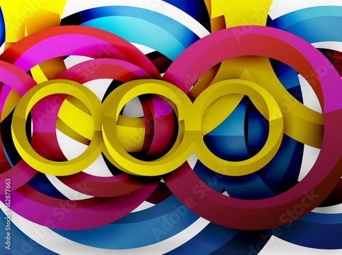kolorowe-pierscienie-3d